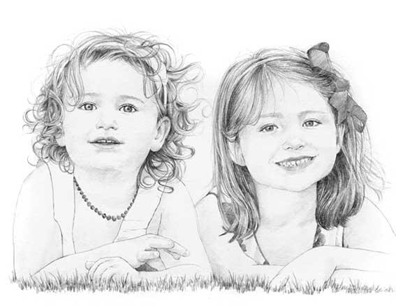 Drawn portrait children's face Uk/children/child co  uk/children/child margaretscanlan