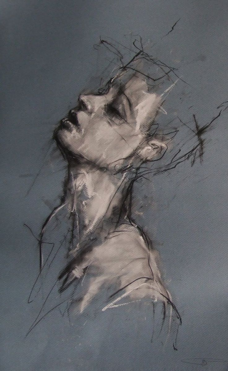 Drawn portrait coal Pinterest 38 best images coal/chalk