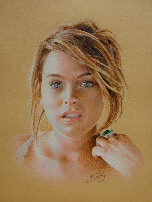 Drawn portrait colored pencil Pencil Colored Drawings