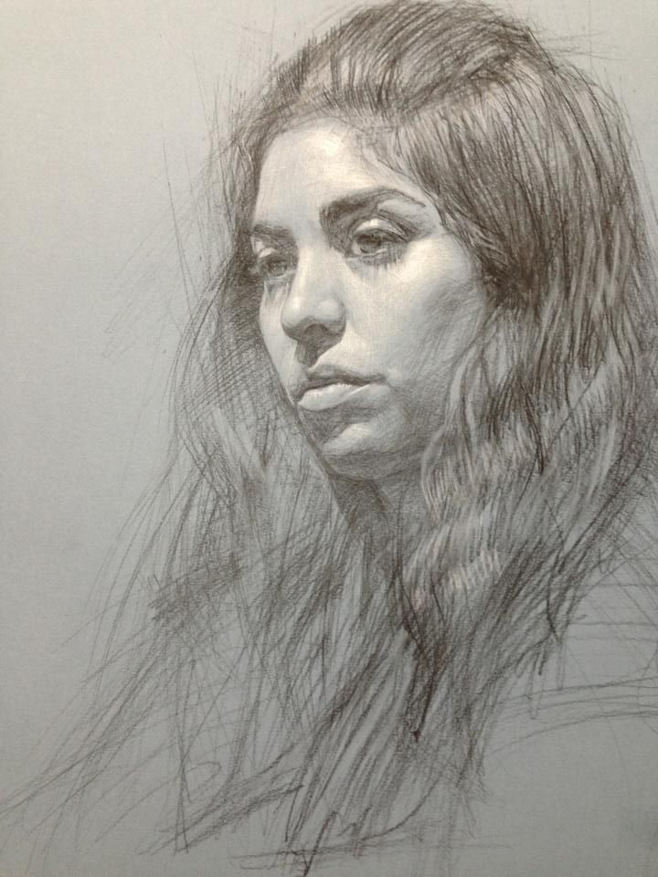 Drawn portrait contemporary 810 Find I Pin more