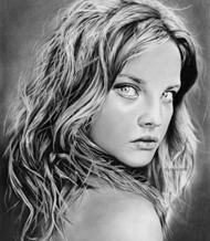 Drawn portrait contemporary Of Contemporary Portrait Anne Pencil