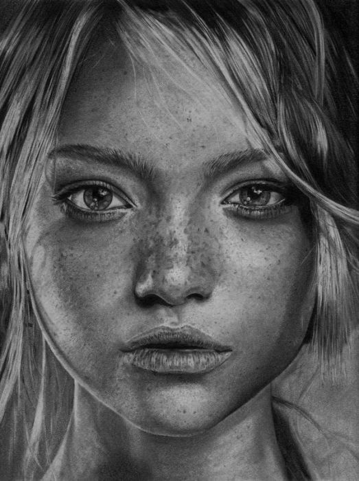Drawn portrait creative art PENCIL on DRAWINGS best images