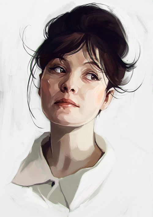 Drawn portrait creative character Gausa by Illustrations ideas Best