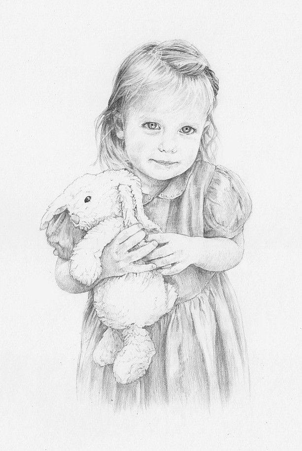Drawn portrait cute Bregman Anna Beautiful 20+ Daisy