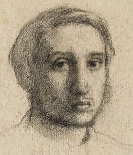 Drawn portrait degas Degas: Self Portrait Portrait Edgar