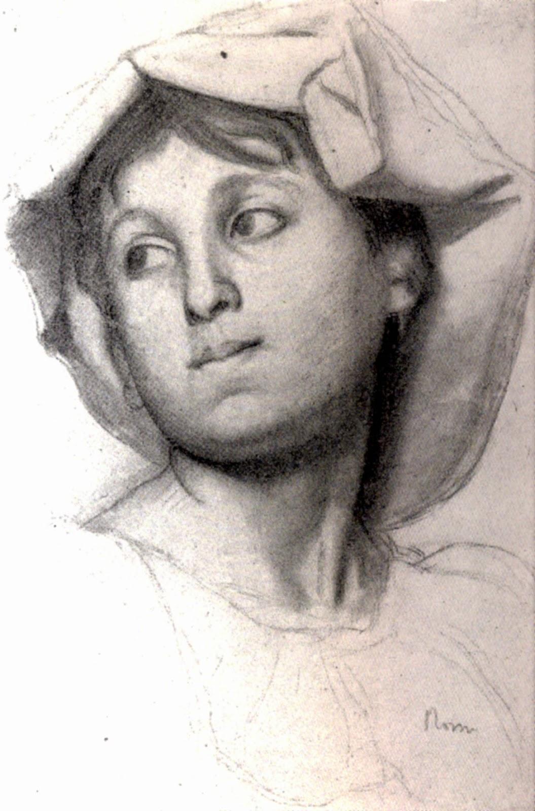 Drawn portrait degas DUKE: Edgar Degas: DRAWING DRAWING