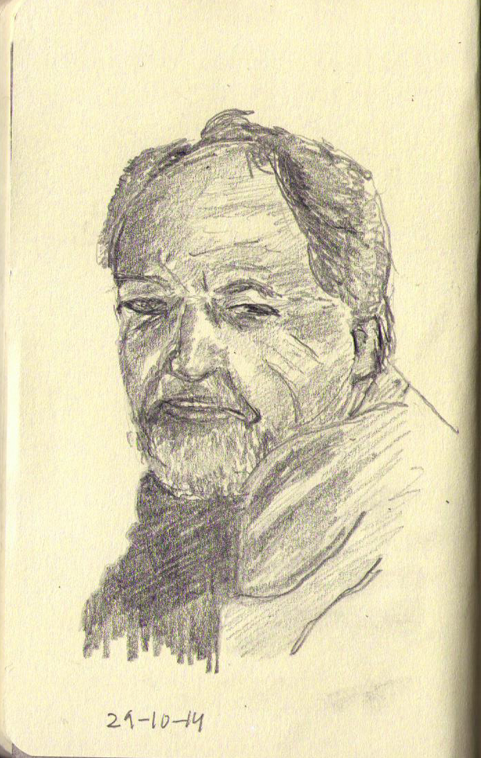 Drawn portrait degas After Degas (?) 115 One