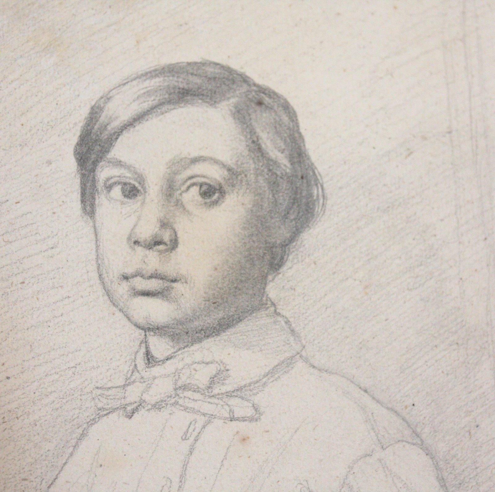 Drawn portrait degas Degas drawings portraits Google degas