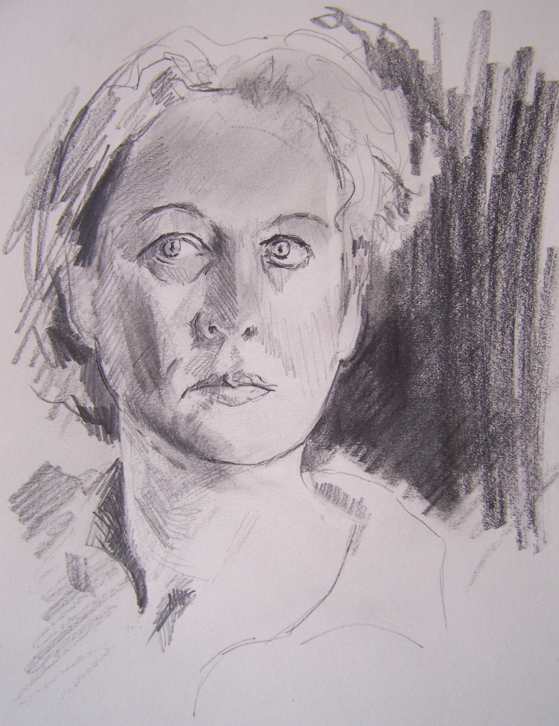 Drawn portrait degas De Dessins has Benedicte's of