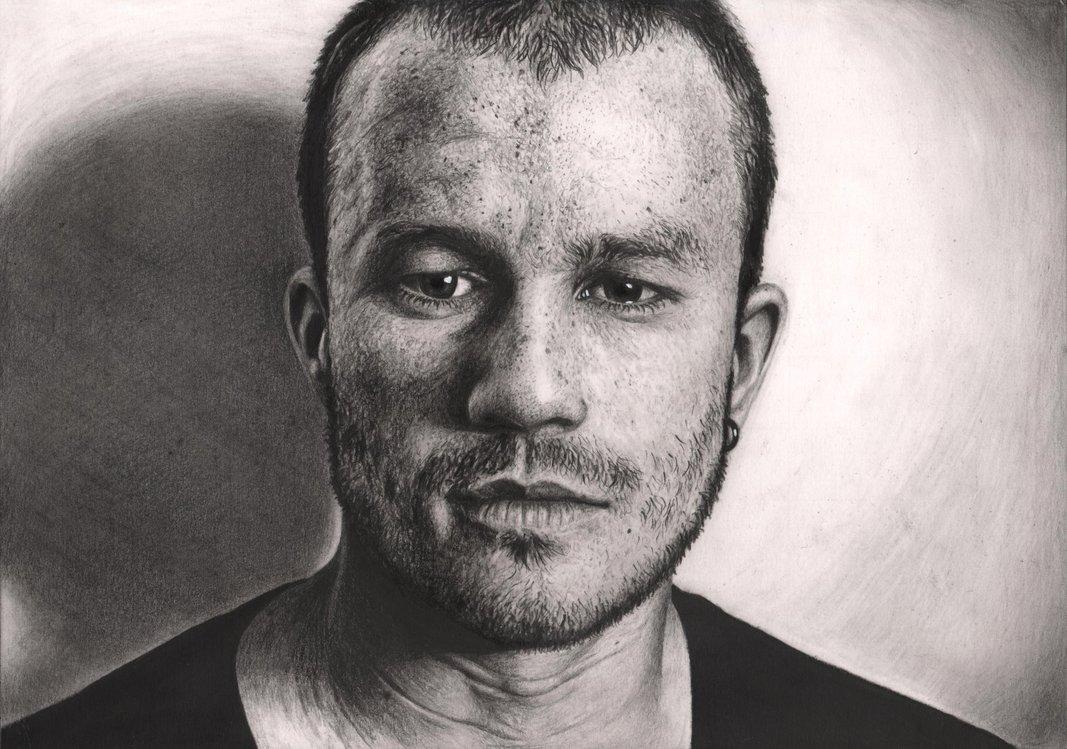 Drawn portrait deviantart Ledger' DeviantArt by Ledger' 'Heath