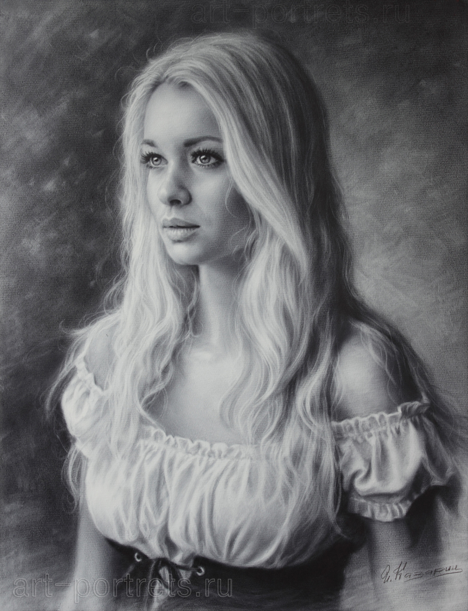 Drawn portrait deviantart Drawing Dry Drawing of by
