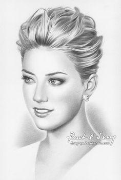 Drawn portrait deviantart Portrait ~neeshma of Heard deviantART