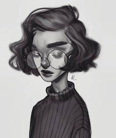Drawn portrait digital # Portrait YouTube my painting