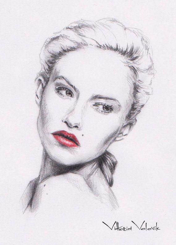Drawn portrait digital 22 images from Pinterest Portrait