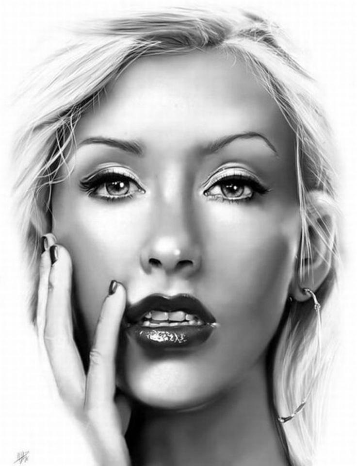 Drawn portrait digital With that  you Best