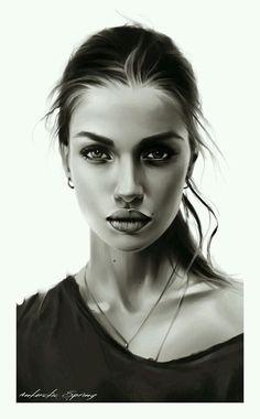 Drawn portrait digital DrawingsDrawing Digital Muh Painting Digital