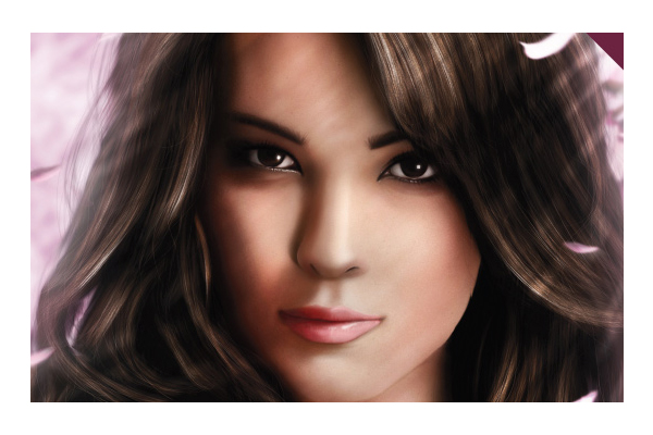 Drawn portrait digital illustration PSDFan Digital and Painting Tutorials