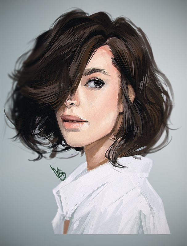 Drawn portrait digital illustration Images on about Portraits best