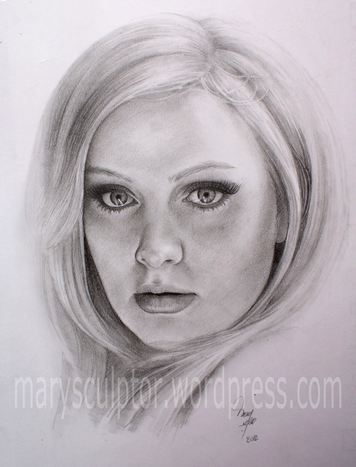 Drawn portrait drawing Portrait me! marysculptor by Drawing