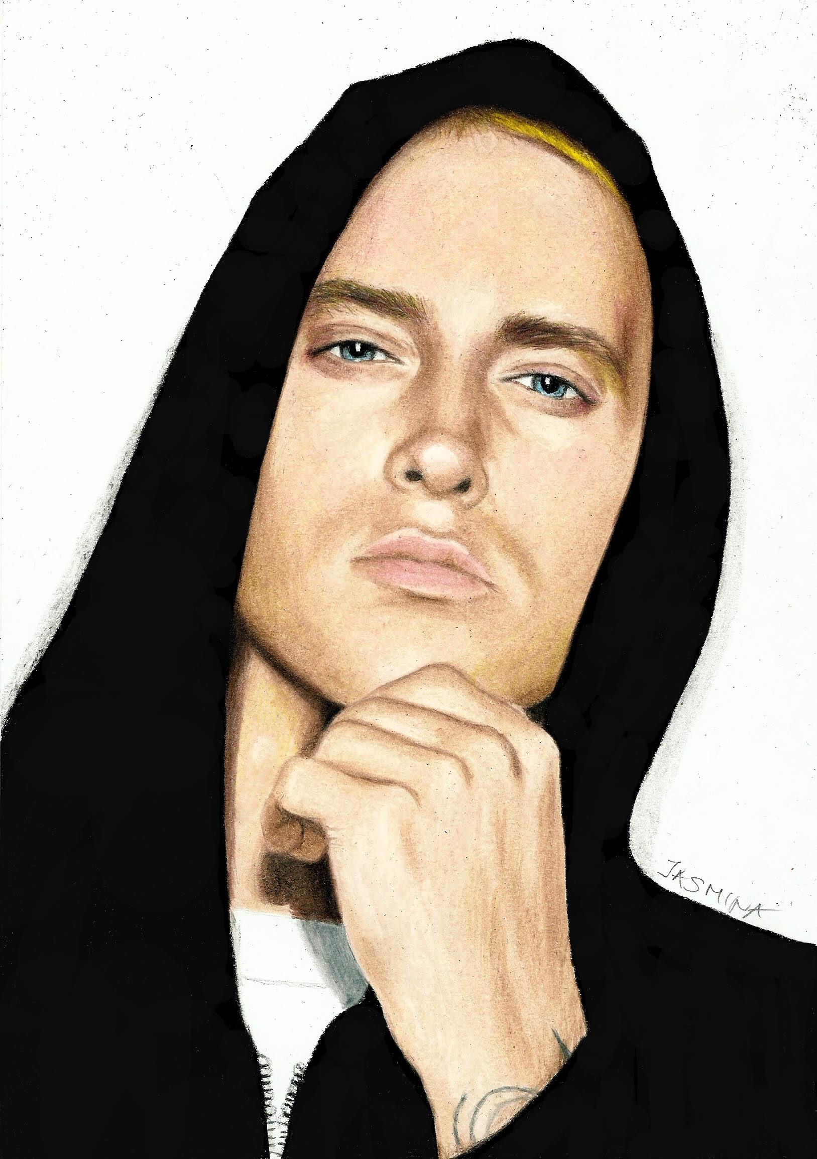 Drawn portrait eminem In drawing best you time