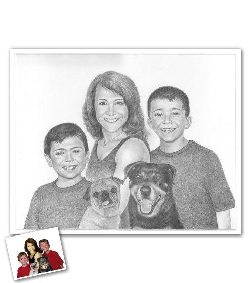 Drawn portrait family Pin Portrait best on on