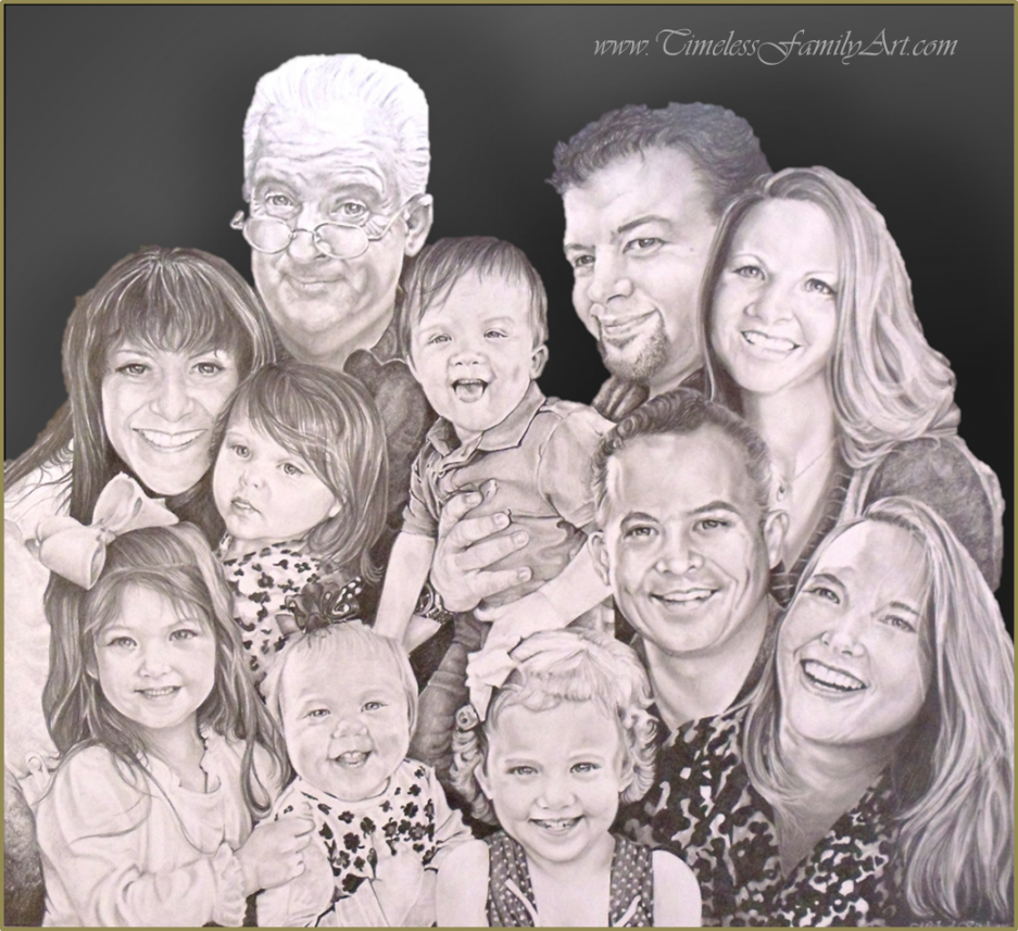 Drawn portrait family Pencil Fort Sketches Kitchens