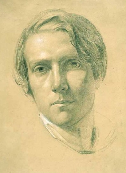 Drawn portrait famous Wikipedia Richmond (painter) George
