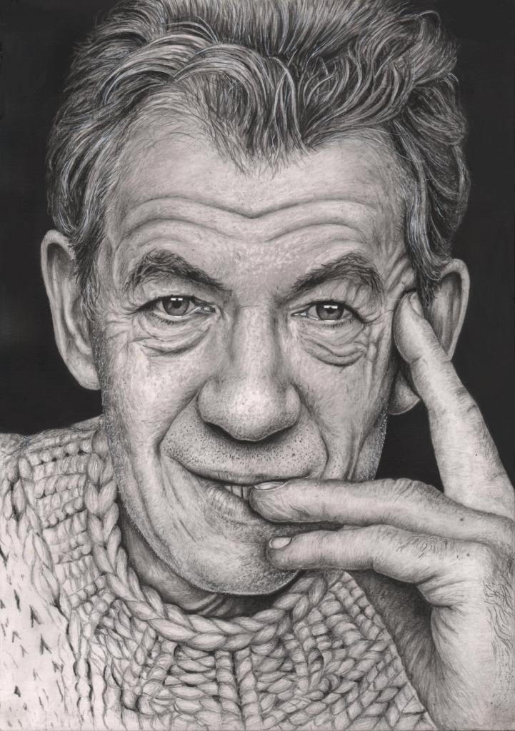 Drawn portrait famous artist Artists Drawing Artists Portrait