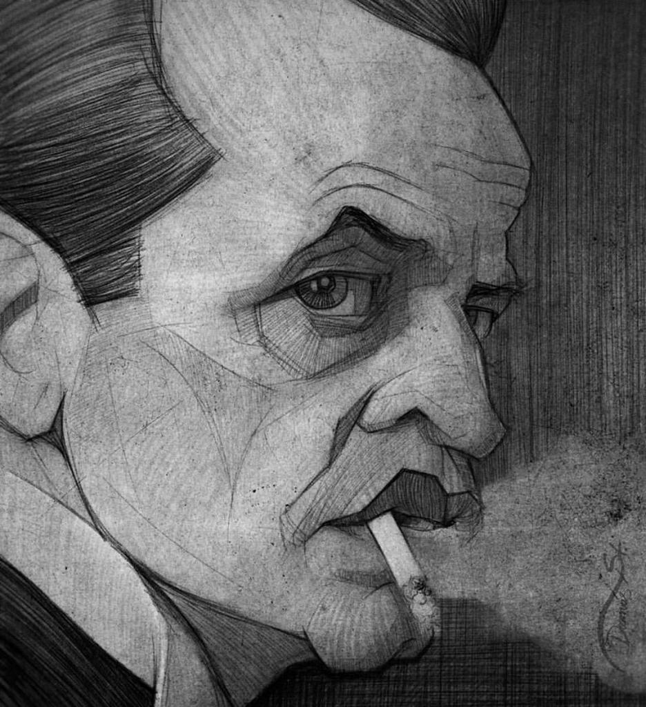 Drawn portrait famous artist Artists Art Drawing Pencil