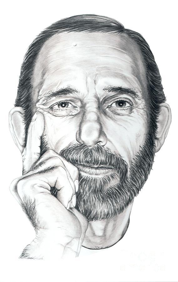 Drawn portrait famous artist By Elliott Protrait Elliott Self