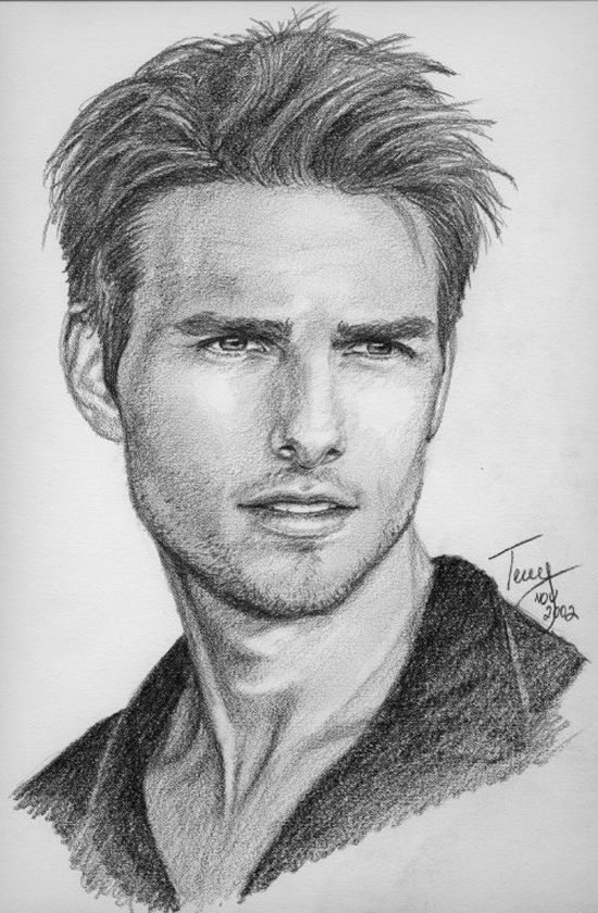 Drawn portrait famous celebrity Of Famous Celebrities  Mannen