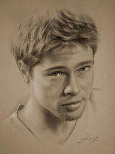 Drawn portrait famous person Drawing Portrait People Boys drawn
