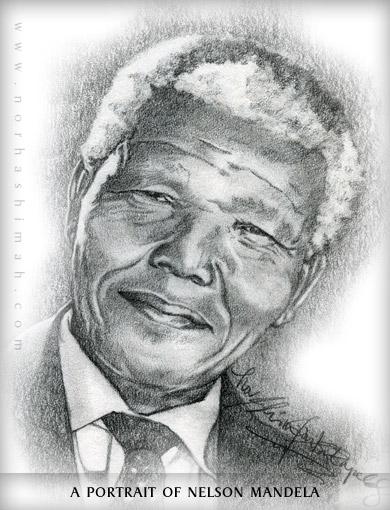 Drawn portrait famous person Gallery Portrait Drawn Mandela