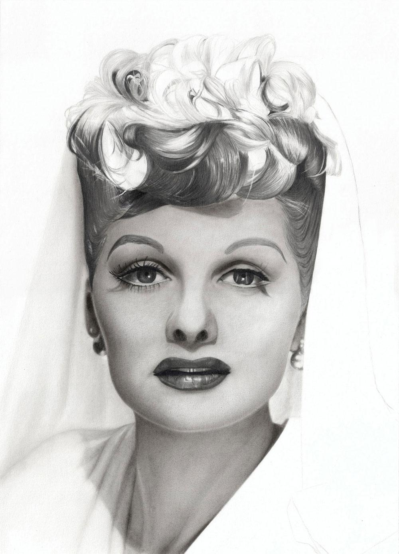 Drawn portrait graphite Step  2 Charcoal Pencil