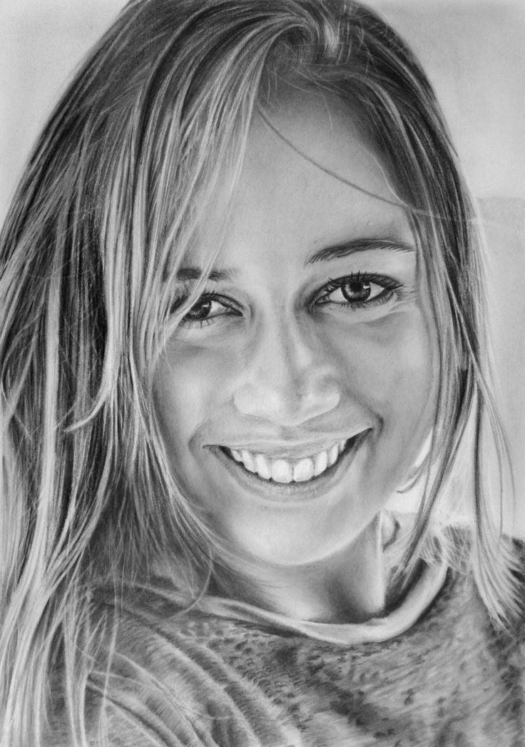 Drawn portrait graphite On Realistic Pencil on My