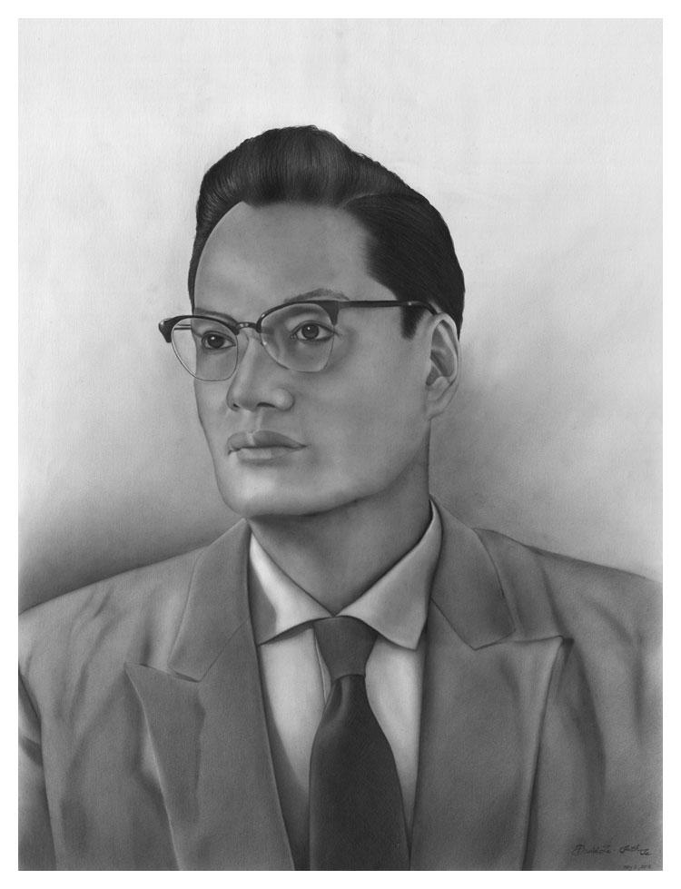 Drawn portrait graphite Realism Portraits and of Pencil