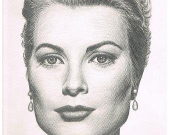 Drawn portrait hand drawn Portraits Custom Drawn Etsy Pencil