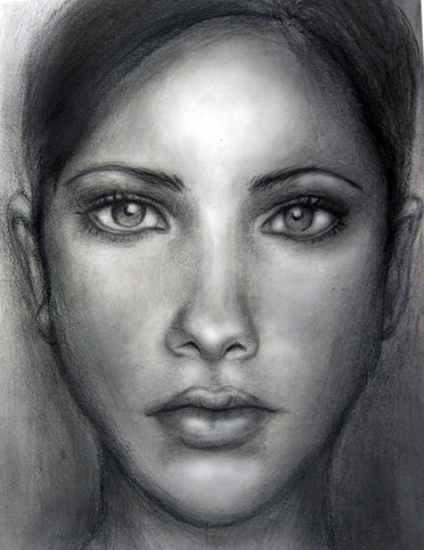 Drawn portrait human face 25+ Best is face Pin