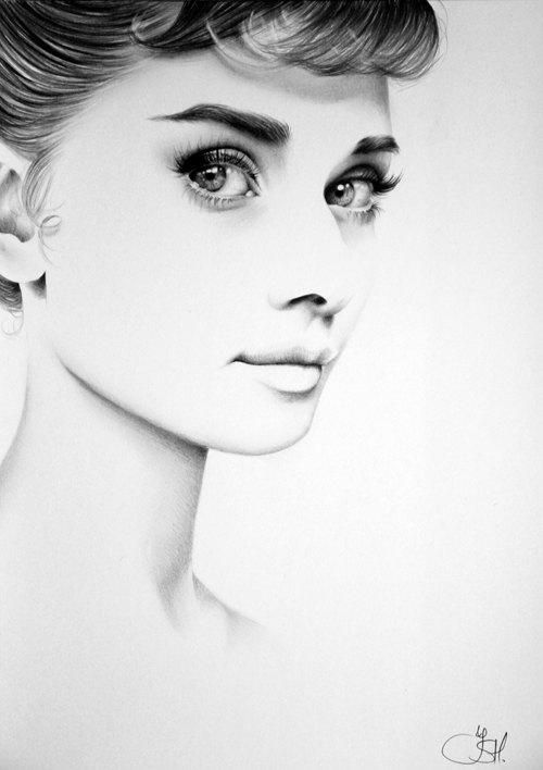 Drawn portrait hype Original Minimalism Drawing Rihanna Fine