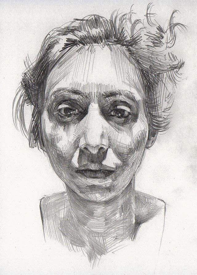 Drawn portrait illustrative This / CG images illustration