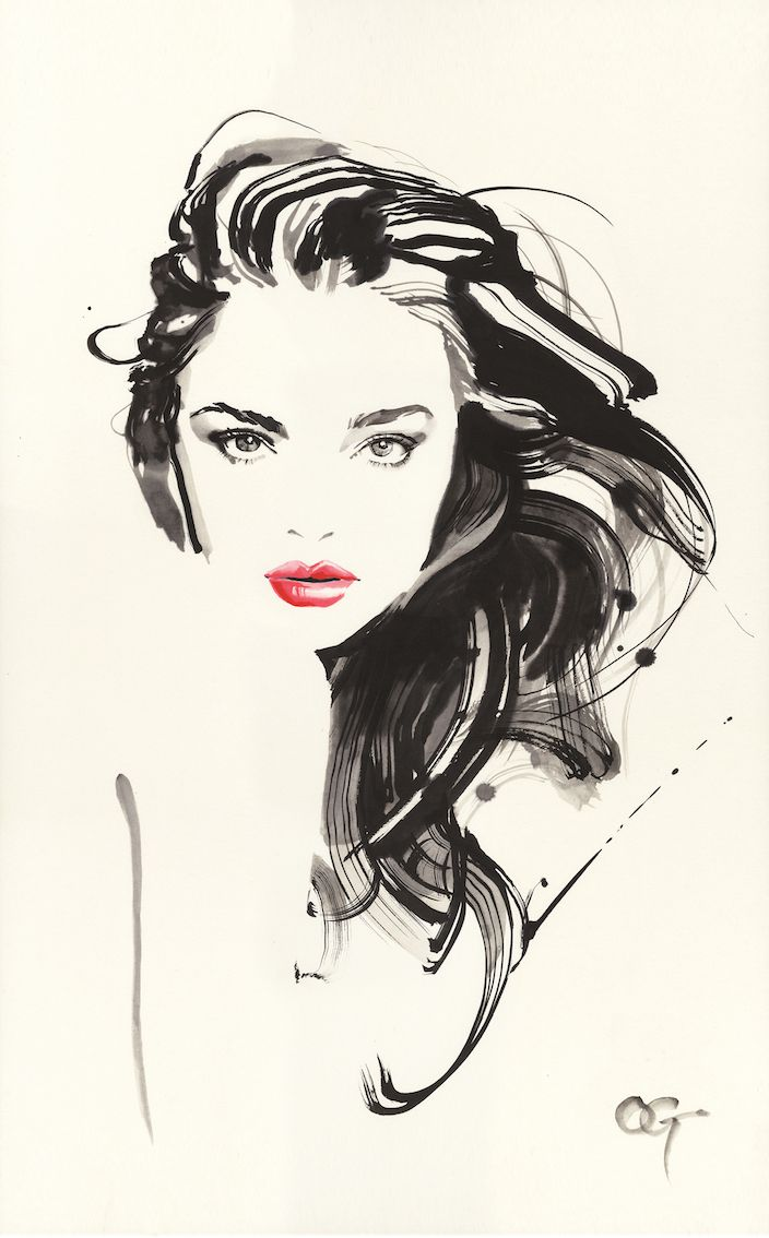 Drawn portrait illustrative This 25+ ideas Face and