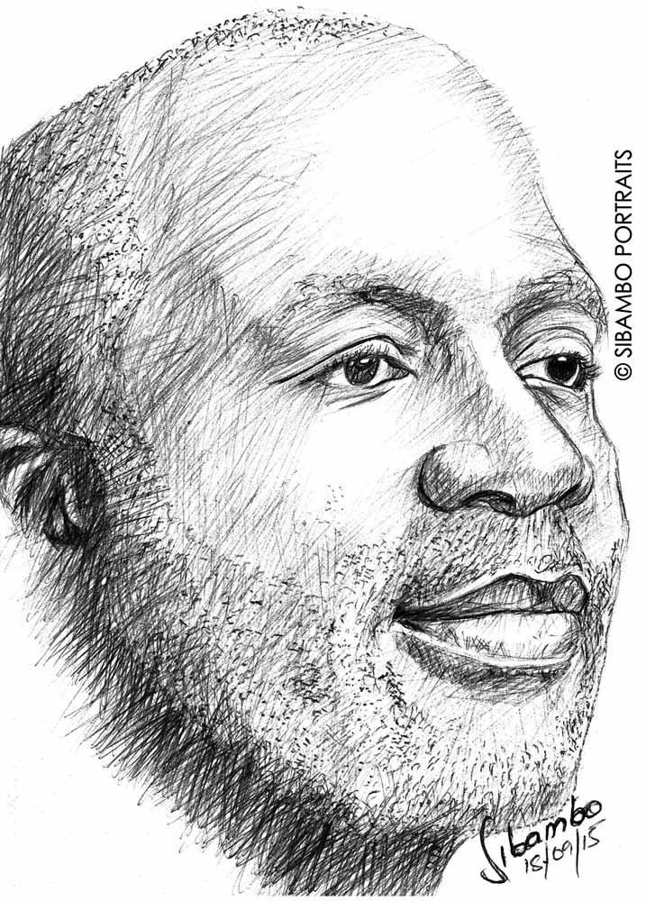 Drawn portrait ink And hand portraits ink Portraits