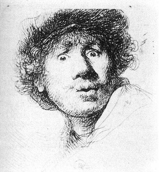 Drawn portrait ink Drawings 31 on images Portrait