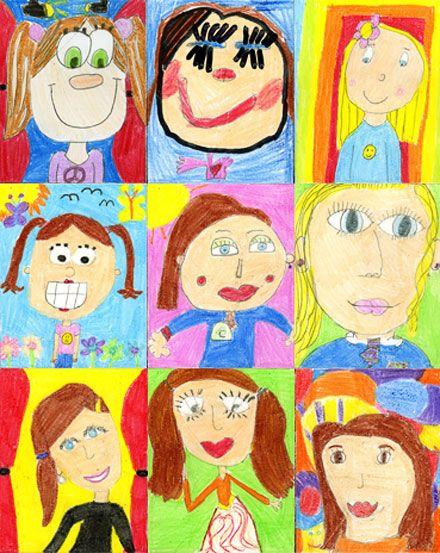 Drawn portrait kid Portrait is ideas on Portrait