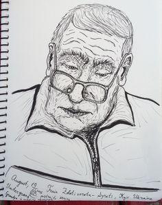 Drawn portrait liner Portrait Random portrait liner underground