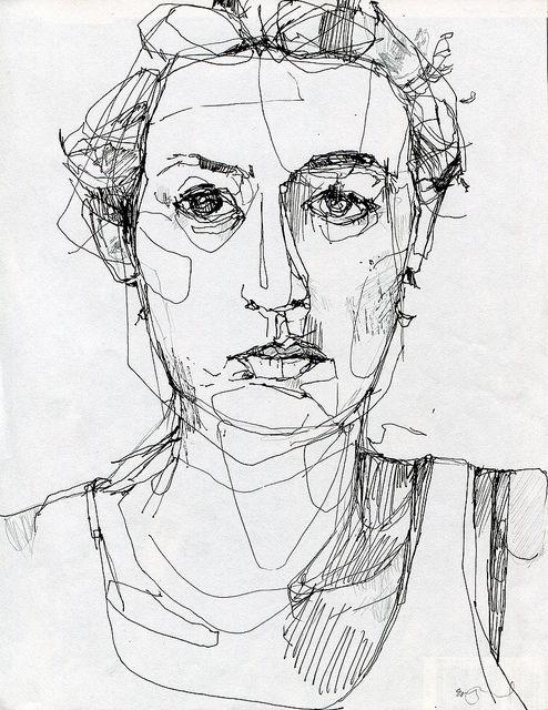 Drawn portrait liner Portraits Find on Line more