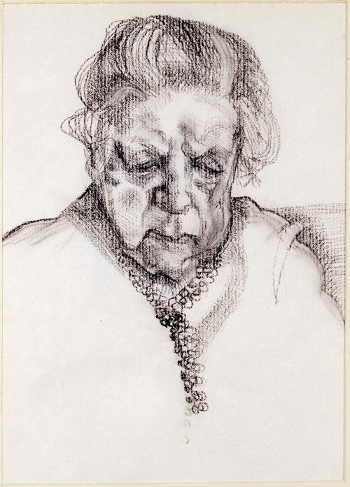 Drawn portrait lucian freud Freud: <em>The Lucian 1948 International