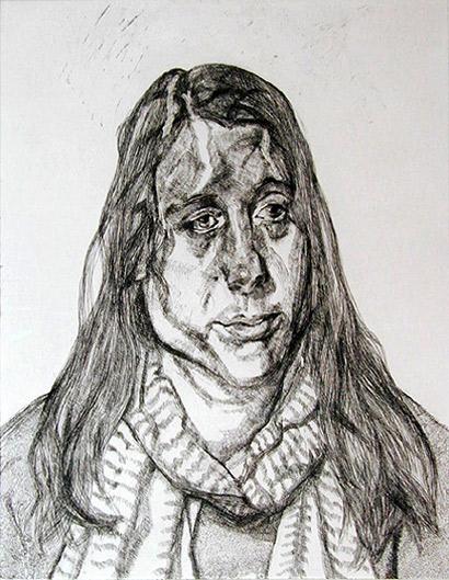 Drawn portrait lucian freud Pinterest I ART Freud Intaglio
