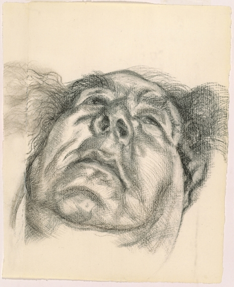 Drawn portrait lucian freud Acquavella Exhibitions Drawings Galleries Lucian