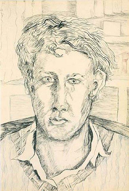 Drawn portrait lucian freud Org Portrait Freud Lucian 1940